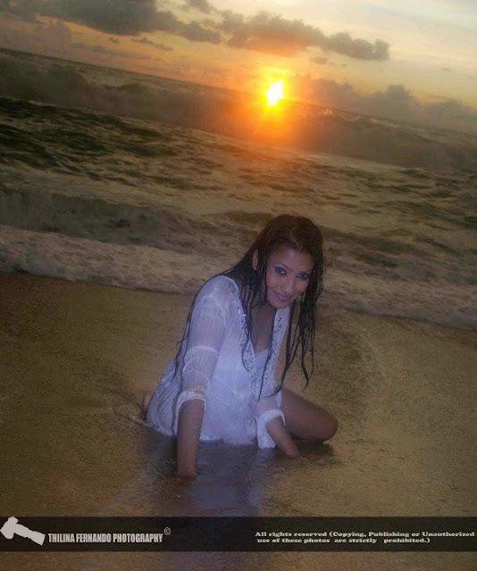 lankan Model Fallon Michelle Hot Bikini