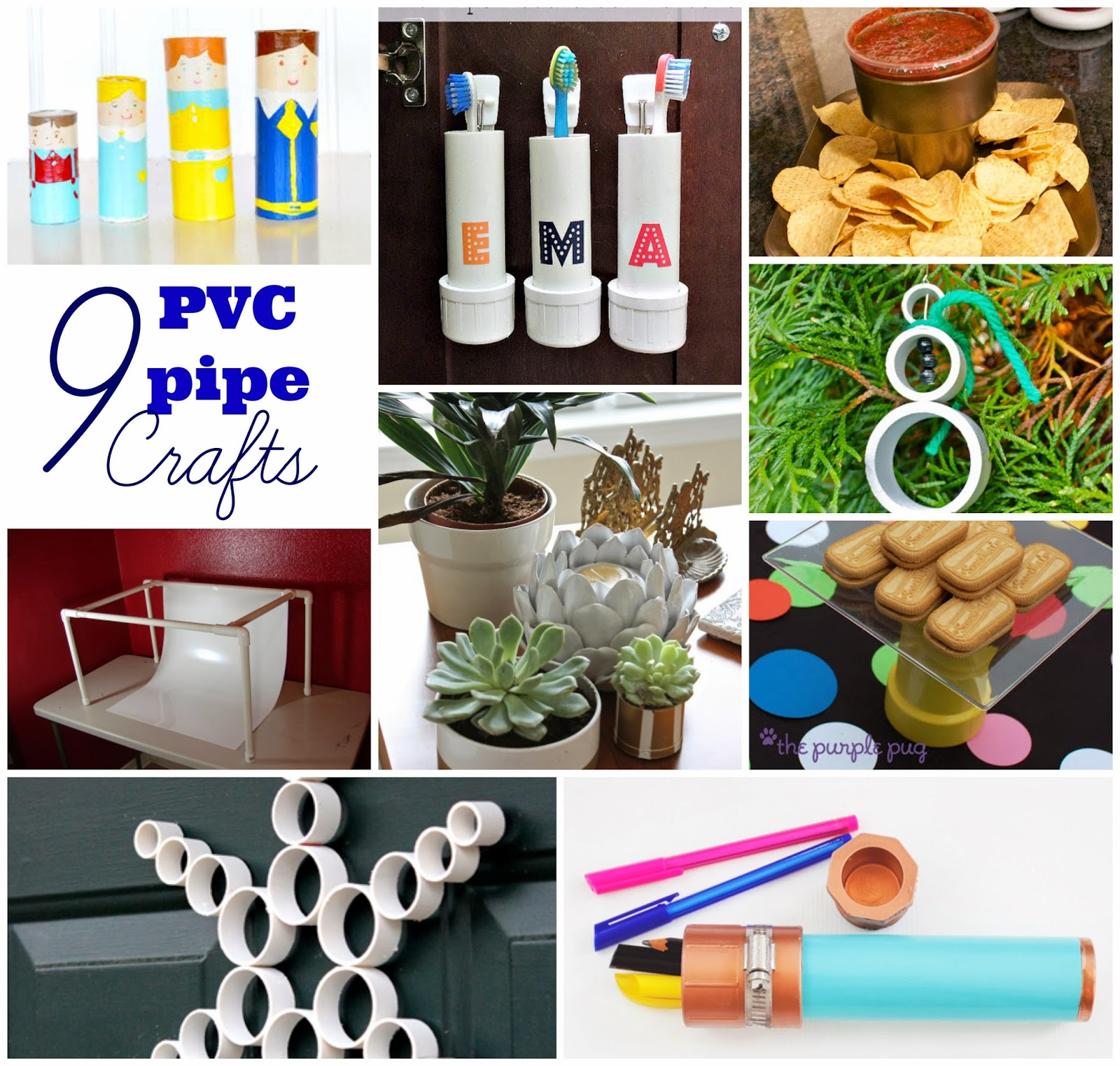 Sowdering about pvc pipe craft roundup for Pvc crafts