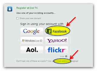 completing domain registration