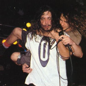Chris Cornell y Eddie Vedder