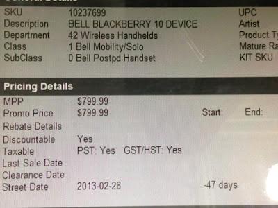 """El próximo 30 de enero ha sido la fecha escogida por RIM para desvelar todos los detalles de los nuevos dispositivos conBlackBerry 10. Sin embargo, las filtraciones nos van ofreciendo más y más detalles acerca de los nuevos modelos. La última incluso nos desvela la supuesta fecha para el lanzamiento comercial y precio del BlackBerry Z10. Conocemos gran parte del funcionamiento de BlackBerry 10. Incluso hemos tenido oportunidad de ver numerosas imágenes y vídeos del BlackBerry Z10, el que parece que se convertirá en el primer dispositivo de la """"nueva RIM"""". Será en el evento de presentación que ha organizado"""