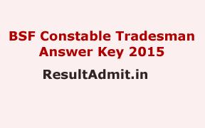 BSF Constable Tradesman