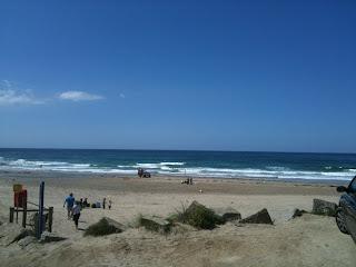 Porthtowan beach Cornwall