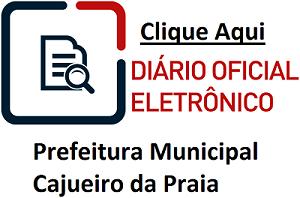 DIÁRIO OFICIAL CAJUEIRO DA PRAIA