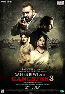 Saheb Biwi Aur Gangster 3 (2018) Hindi Movie HDRip | 720p | 480p