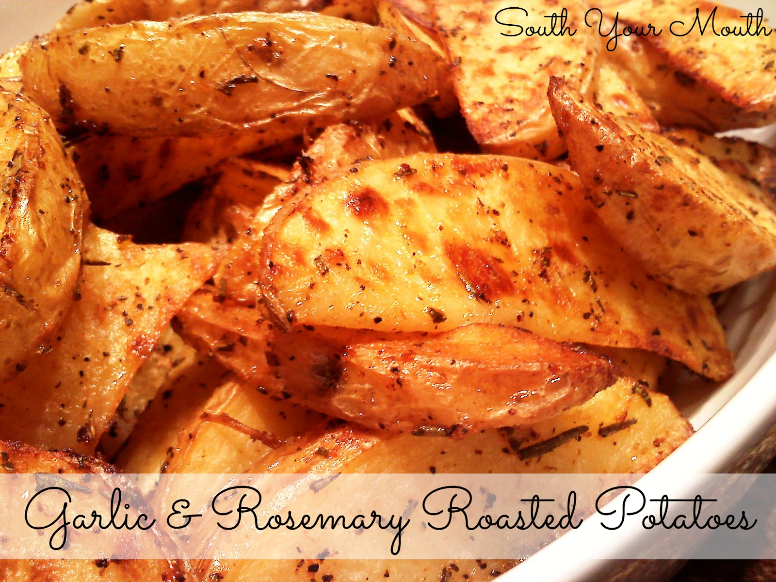 oven roasted rosemary garlic potatoes 4 5 medium potatoes about