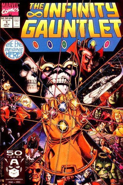 Infinity Gauntlet #1 comic