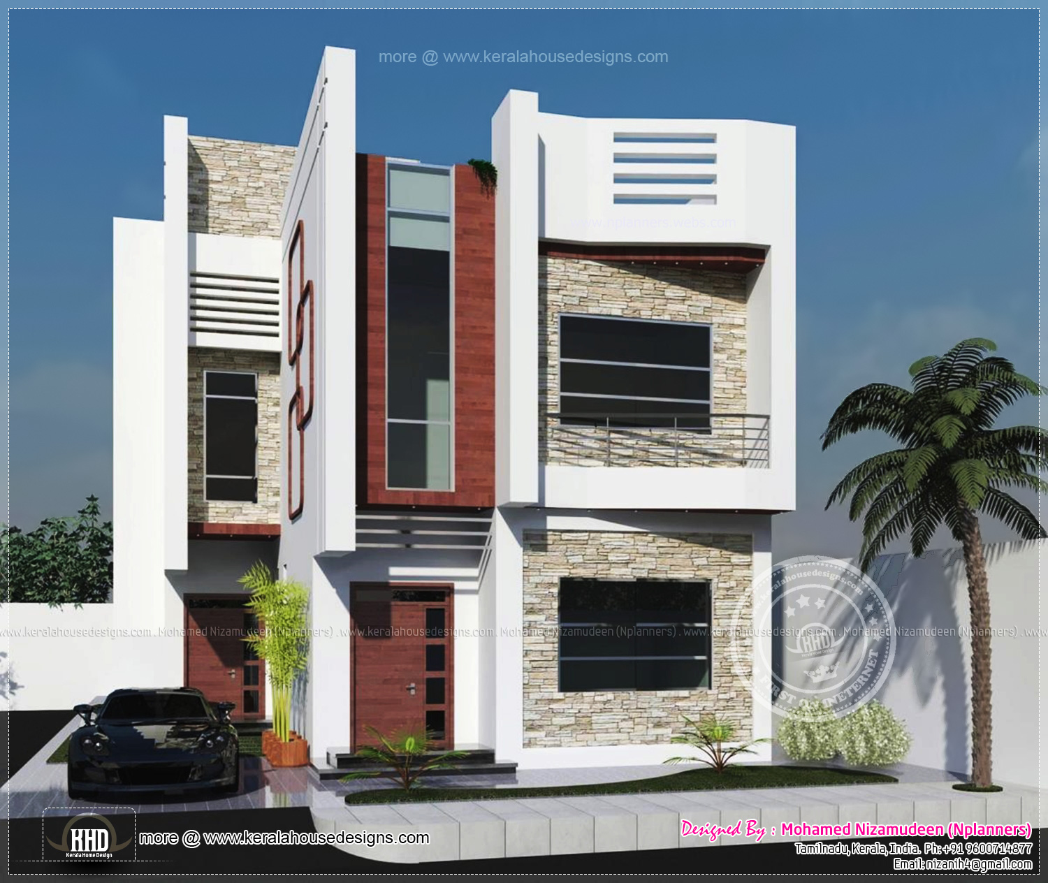 Kerala home design siddu buzz for Small indian house plans modern