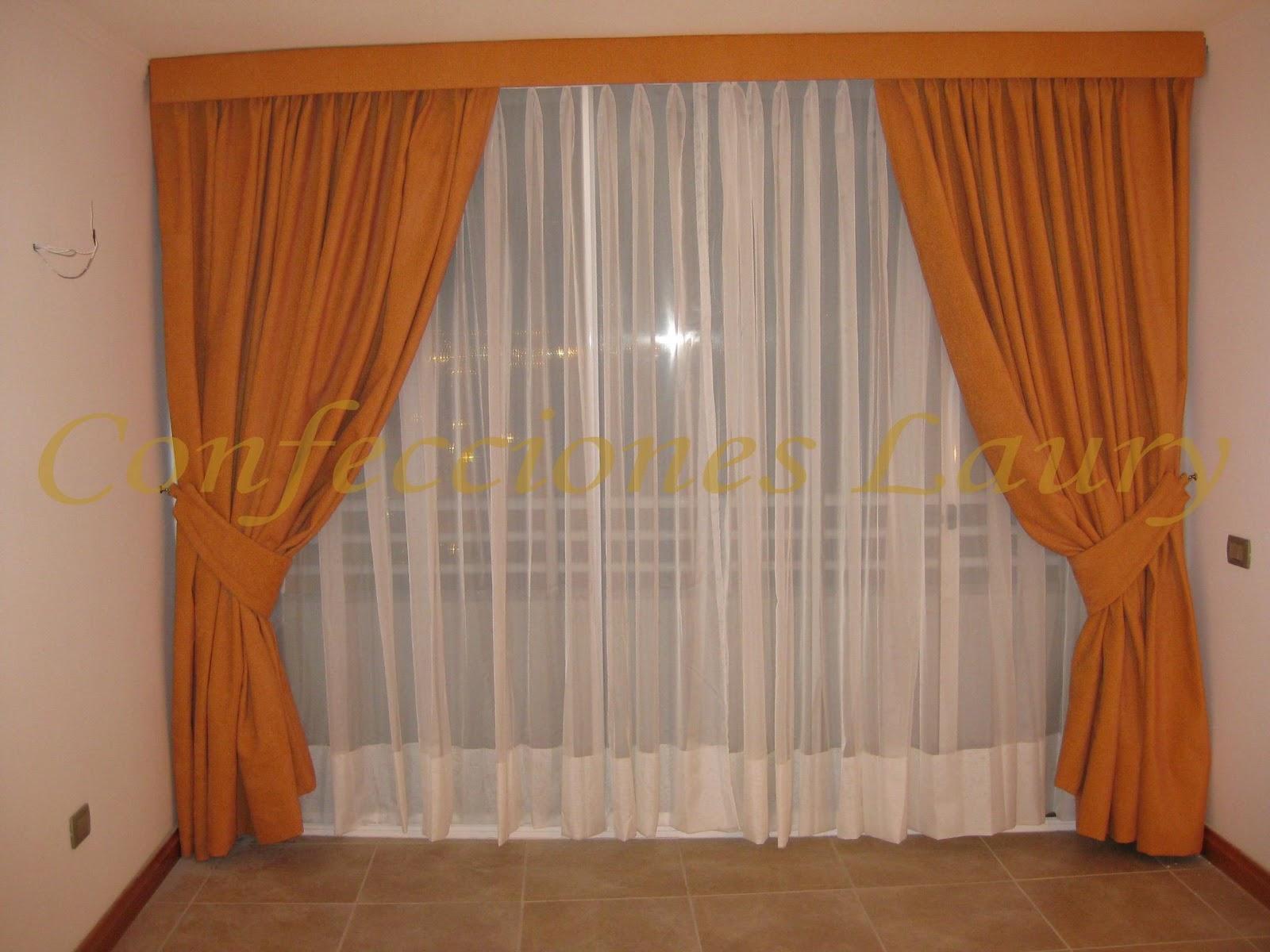 Cortinajes may laury cortinas para living y comedor for Cortinas en comedor