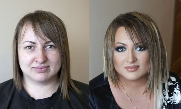 Milagres da maquiagem