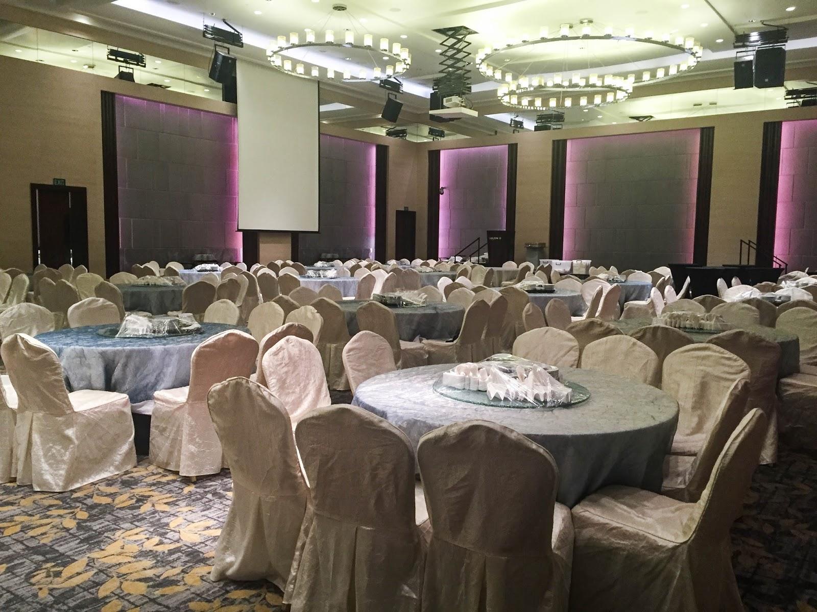 Fairmont hotel singapore wedding