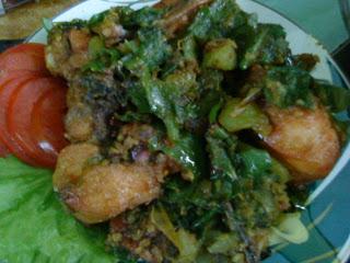 cara memasak ayam hijau