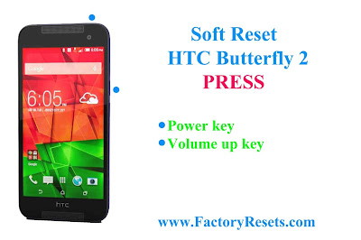 Soft Reset HTC Butterfly 2