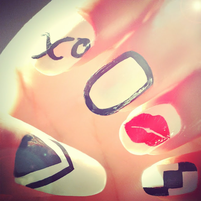The Cool Diy red nail designs Photo