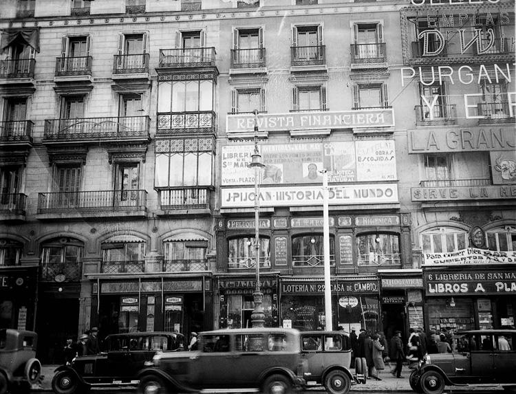 Manuelblas madrid antiguas librerias de madrid for Libreria puerta del sol