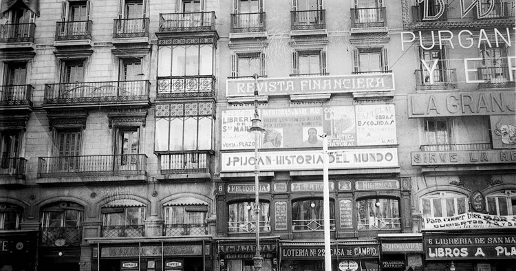 Antiguas Librerias De Madrid Manuelblas Madrid