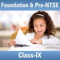 Study Material for Foundation & Pre-NTSE ( Class IX )