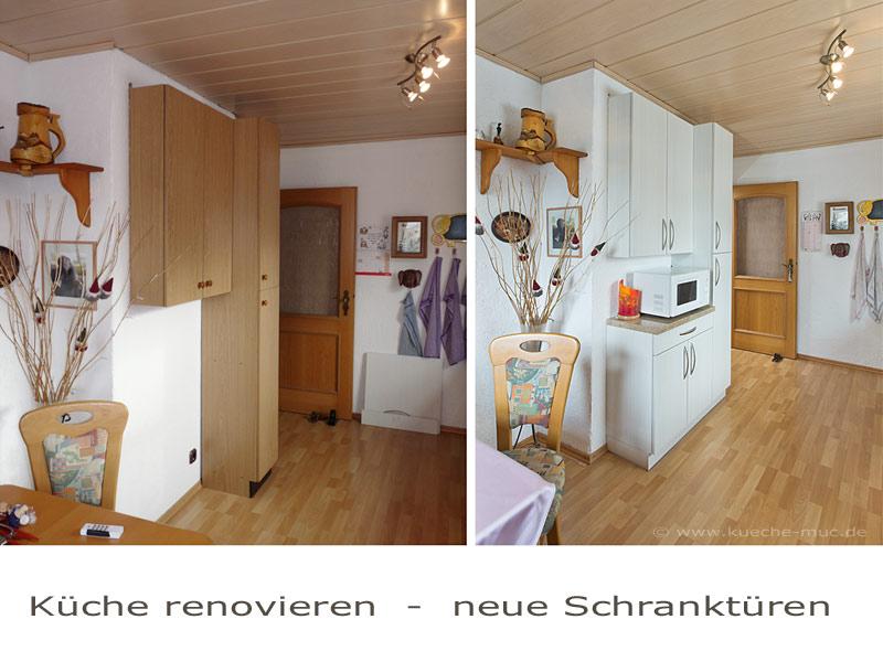 Küche Fronten   Küchenschranktür Wechseln