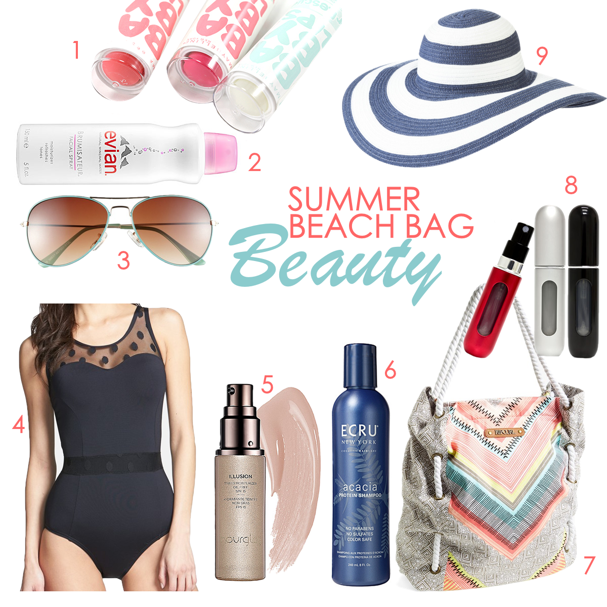 Pack your beach tote with these essentials
