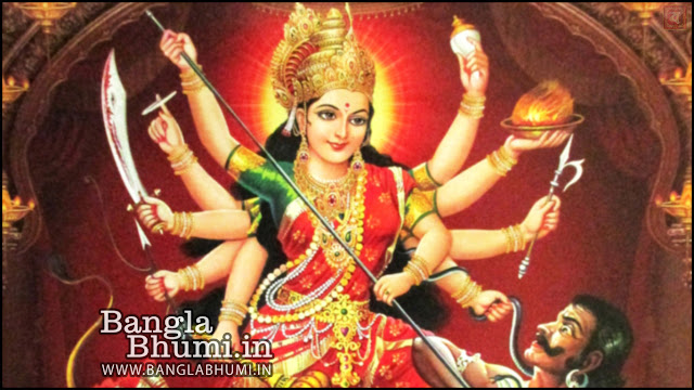 Jay Maa Durga Indian God 1366x768 Wide Wallpaper