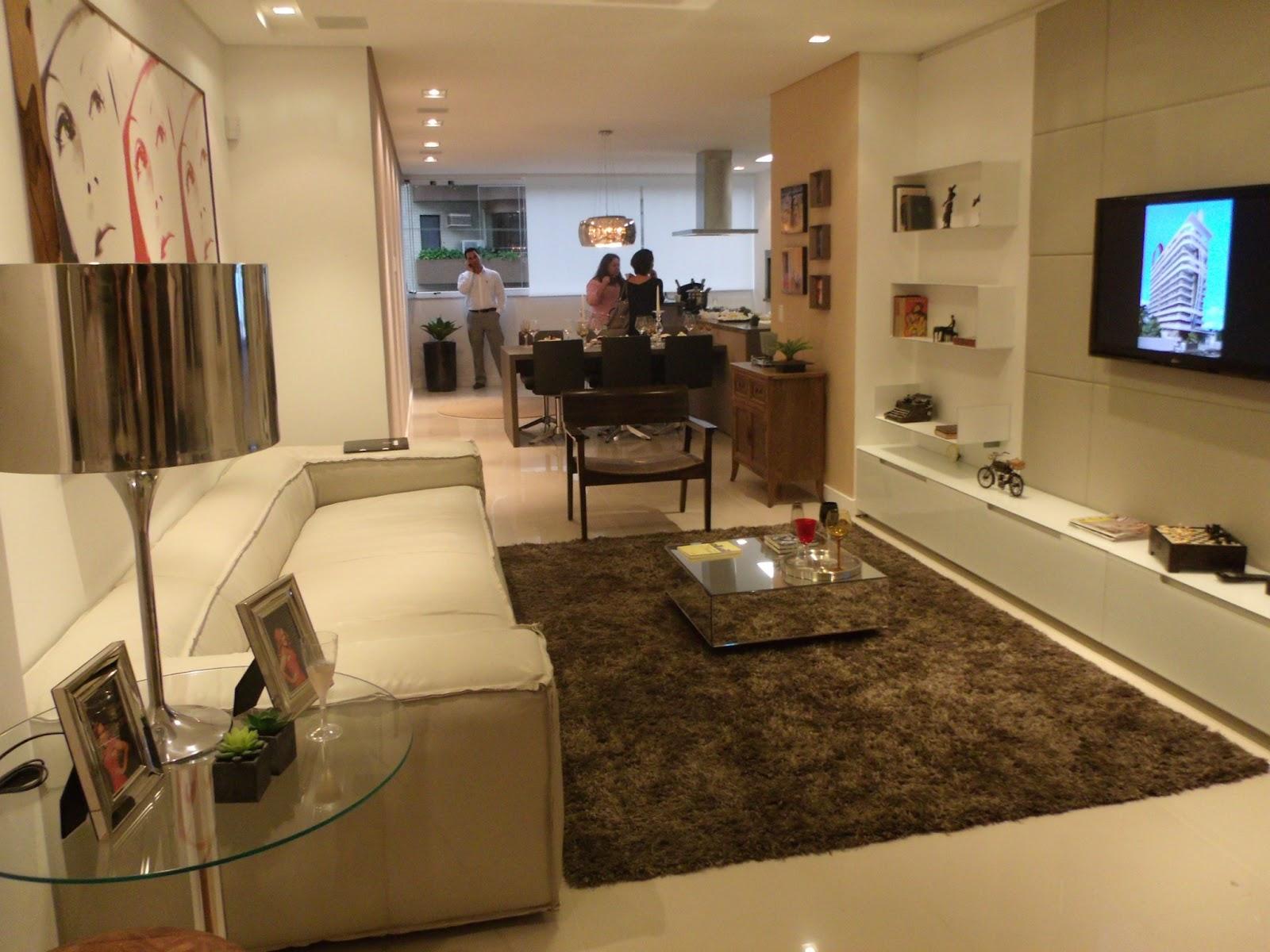 Pruzak Com Sala De Estar De Apartamento Pequeno Decorado Id Ias  -> Sala De Estar Apartamento Decoracao