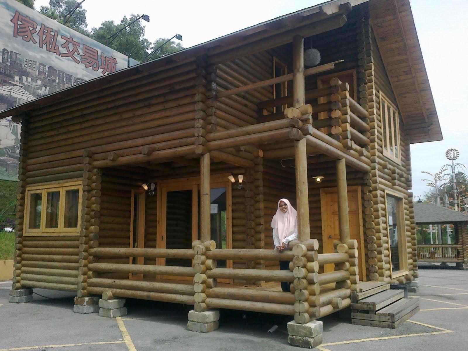 Cantiknya rumah kayu!