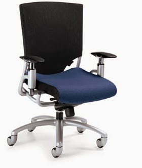 Global High Back Ride Office Chair