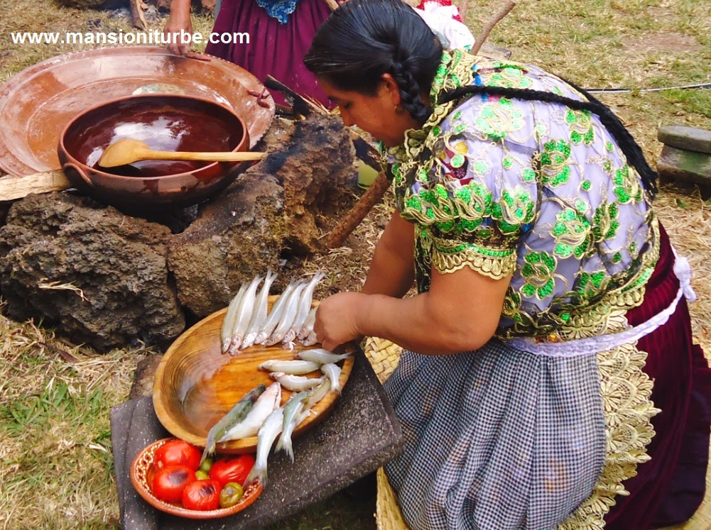 Benedicta Alejo Master Cook from Michoacán
