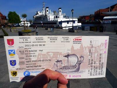 bilet na tramwaj wodny