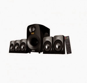 Snapdeal/Paytm : Zebronics ZEB-SW7910RUCF 5.1 Speaker System & Rs.510 Cashback Rs.3400 : Buy To Earn