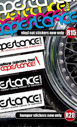 CapeStance Stickers
