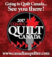 Hope to see you at Quilt Canada 2017!