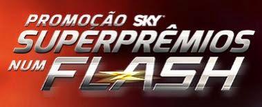 Promoção SKY Superprêmios num Flash