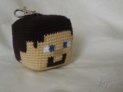 amigurumi crochet mine craft
