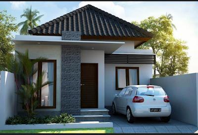 rumah minimalis sederhana 1 lantai type 36