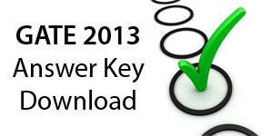 gate 2013 answer keys