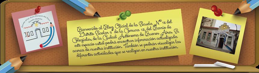 "Escuela 12 del DE 9 ""Gran Mariscal del Perú Ramón Castilla"""