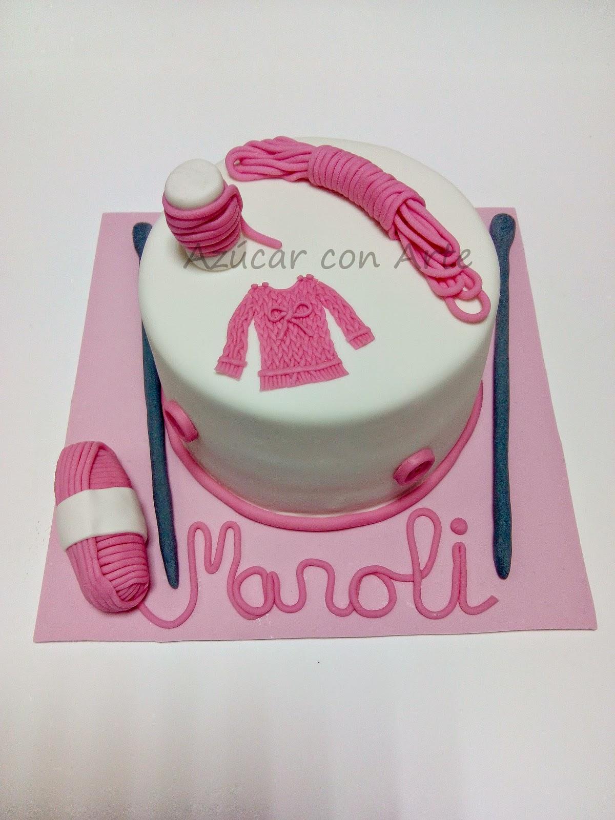 tarta punto, cake jersey, sin gluten, gluten free cake | azucar con arte