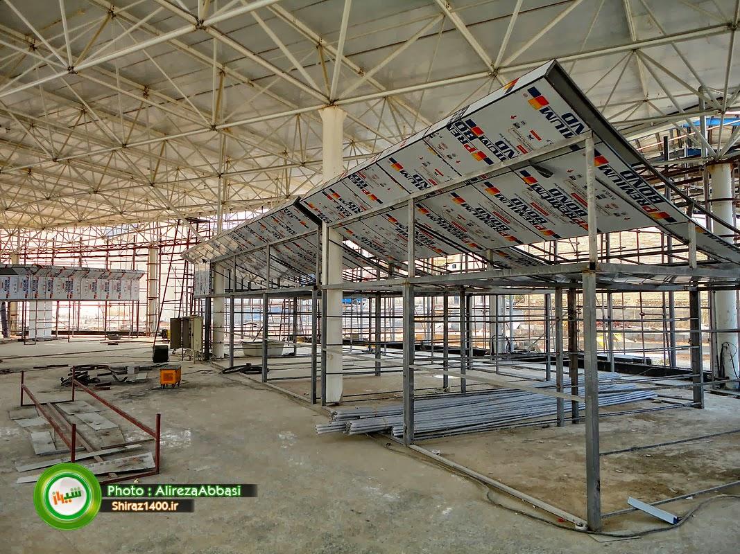 Amir Kabir Bus Terminal In Shiraz Under Construction