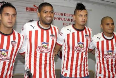 Nuevos Jugadores del Atlético Junior para el 2013