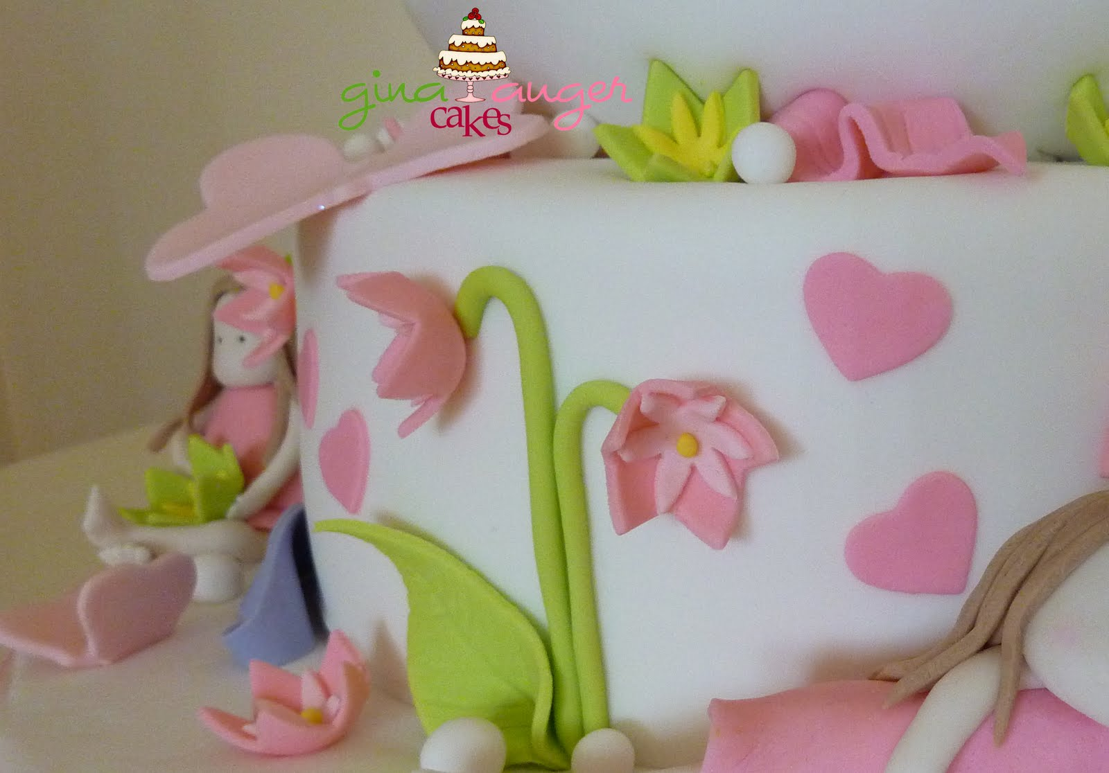 Top That!:  Sweet Little Girls  Birthday Cake