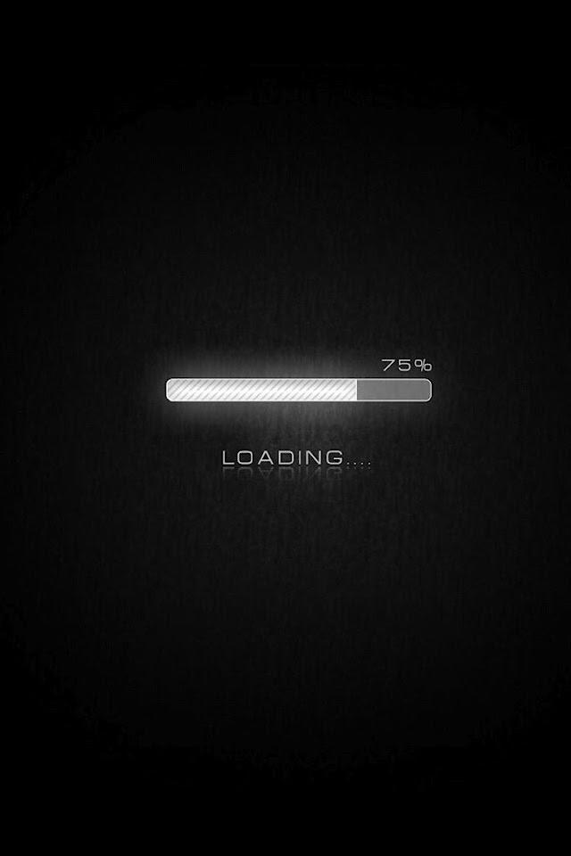 Loading Bar 75 Percentage   Galaxy Note HD Wallpaper