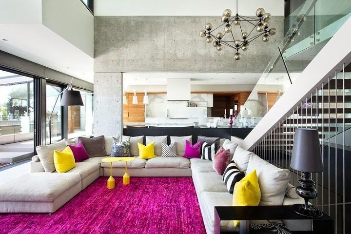 Casa groveland mcleod bovell vancouver canad arquitexs for Multi color living room ideas