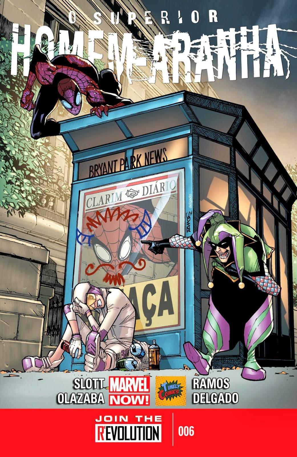 Nova Marvel! O Superior Homem-Aranha #6