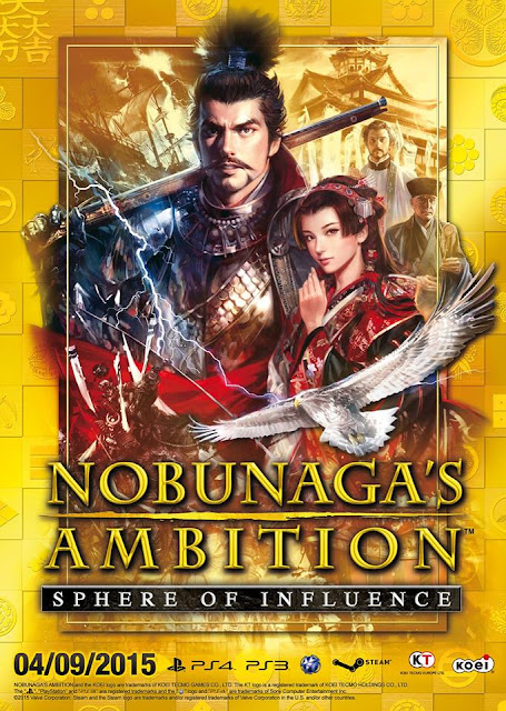 Nobunaga's Ambition Sphere of Influence HD Cover