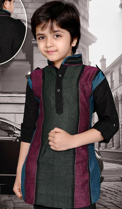 Wedding Short Pathani Kurta Collection 2013 For Kids