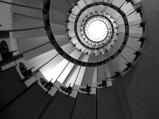 The spiral.  Architectural efforts should use this shape as the guide, doing quick iterations that each bring the effort closer to the end goal, but never getting held back from progress by attempts for perfection.