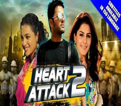 Heart Attack 2 (2018) Hindi Dubbed 480p HDRip