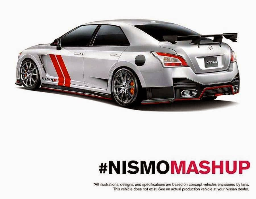 NISMO MASHUP GT-R マキシマ