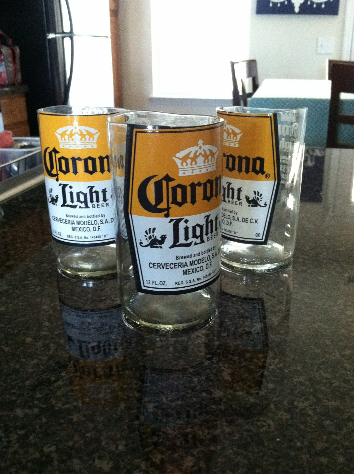 Diy Corona Drinking Glasses